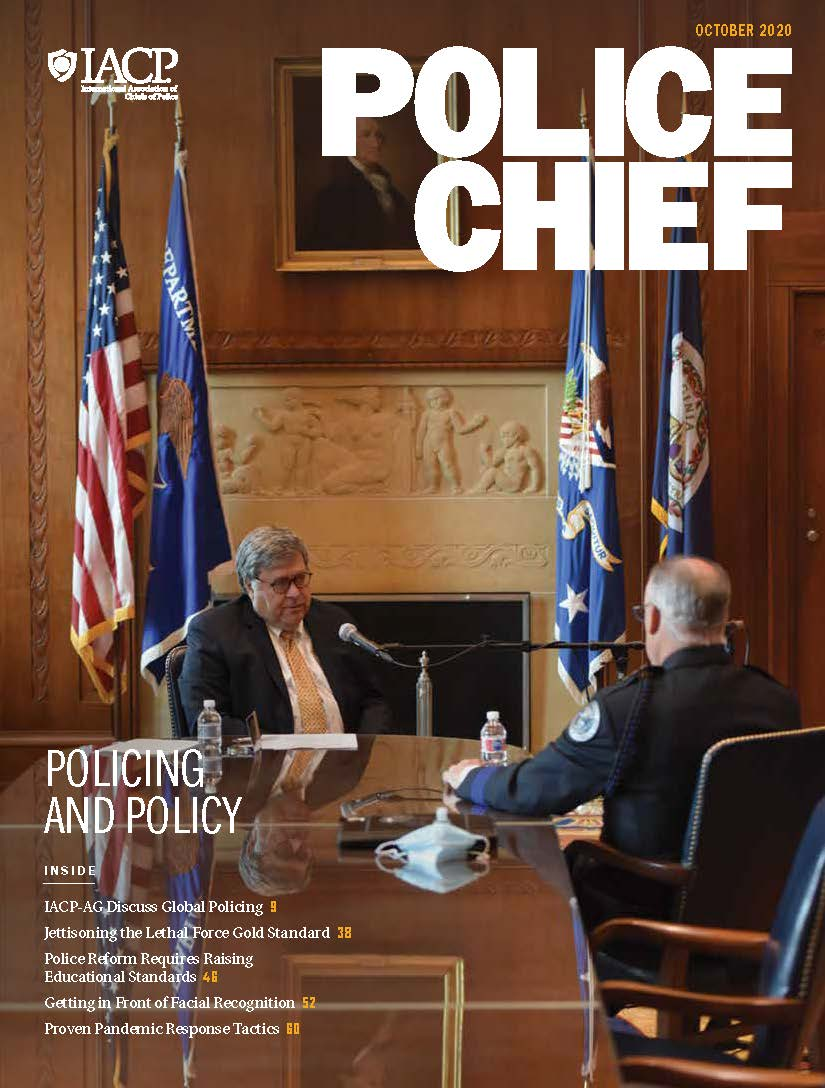 October 2020 Police Chief Magazine Cover