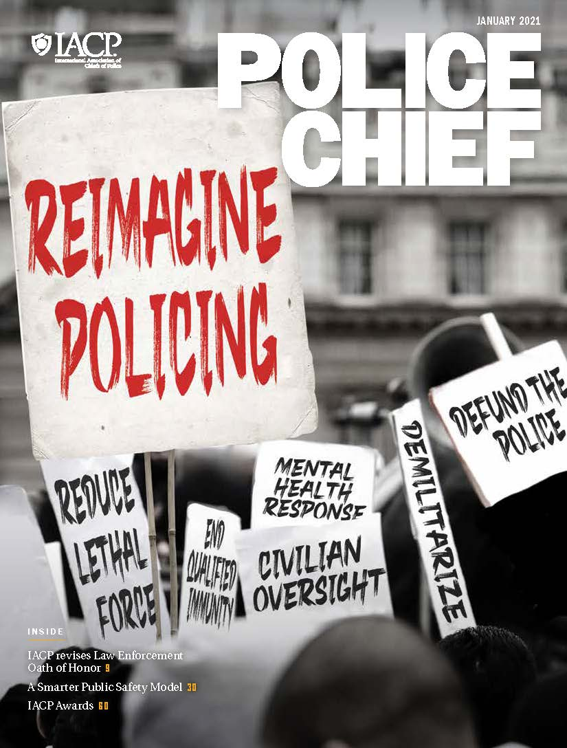 January 2021 Police Chief Magazine Cover