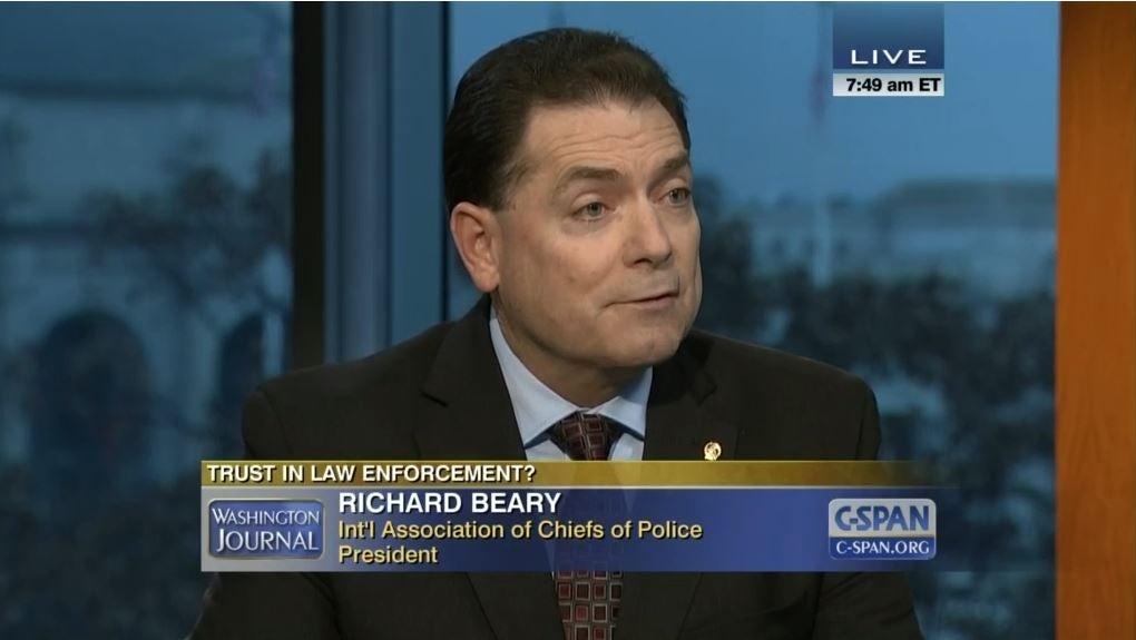 IACP President Richard Beary on C-SPAN's Washington Journal