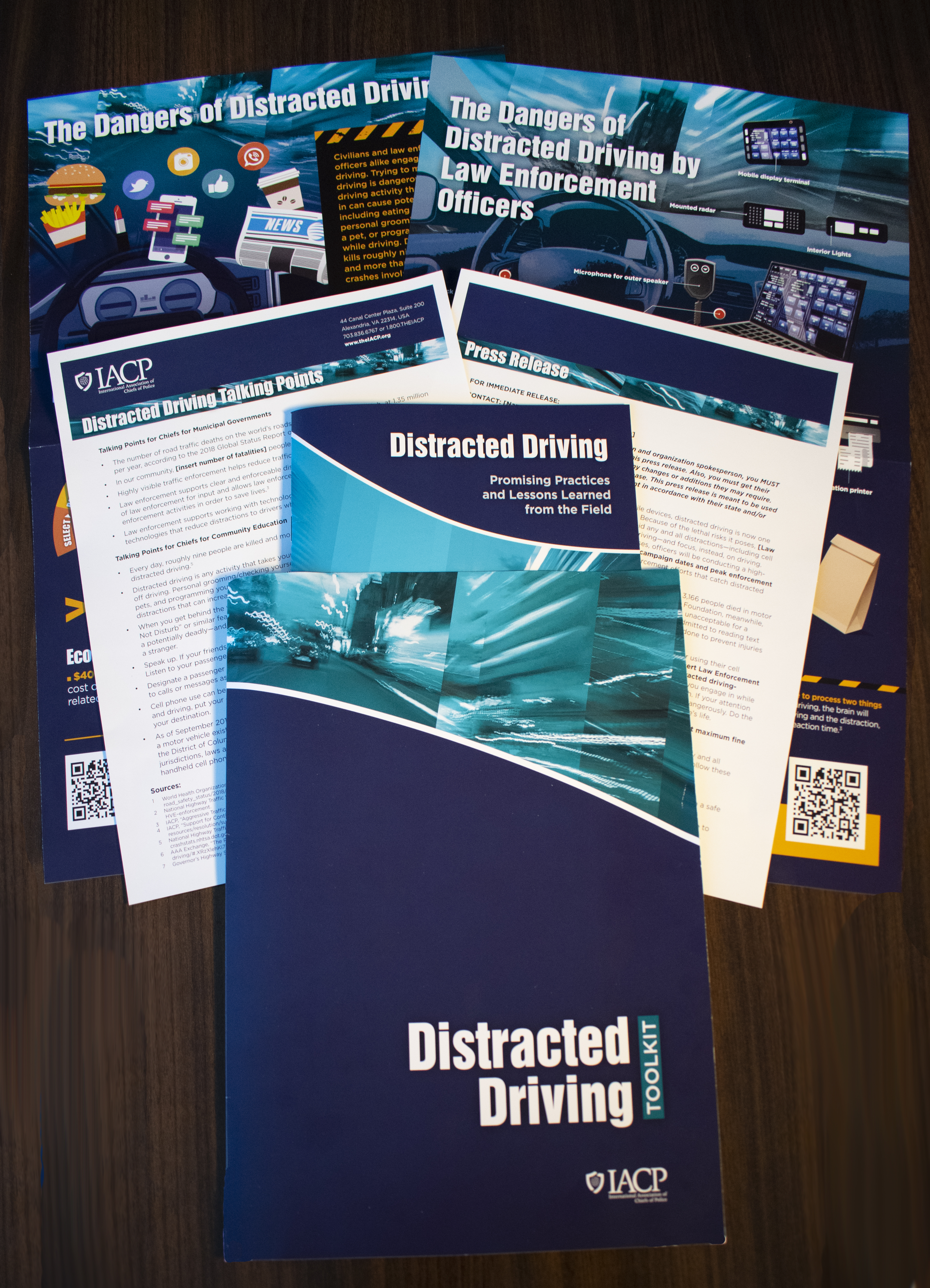Distracted Driving Toolkit Content Spread